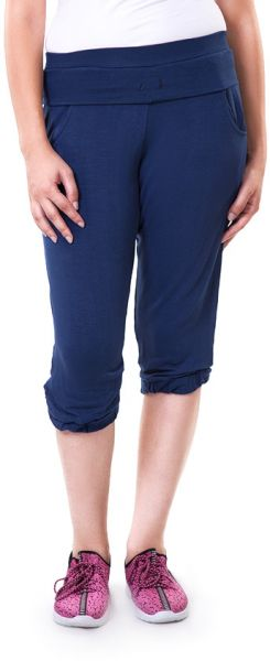 Solo WPC-S16WC-084-003 Flat Front Short For Women-Navy, Medium
