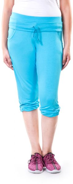 Solo WPC-S16WC-084-006 Flat Front Short For Women-Turquoise, Large