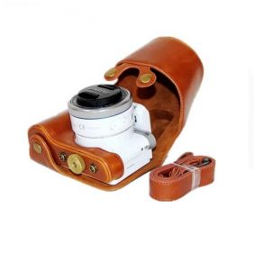 Brown Soft Silicone Rubber Camera Protective Body Cover Case For Samsung NX500