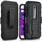 Rugged impact armor case cover motorola moto G 3RD Generation (Mobile Phone Accessories)