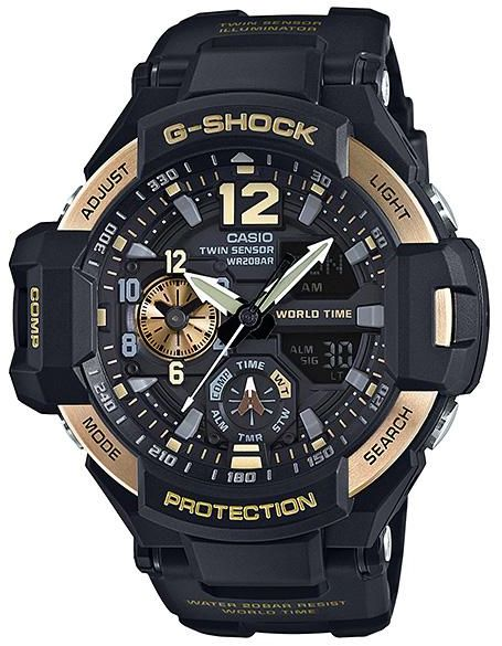 9bddc07b4 Casio Dress Watch For Men Analog-Digital Resin - GA-1100-9G | KSA | Souq