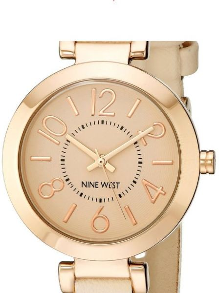 Nine West Casual Watch For Women Analog Leather Nw 1712pkrg Price