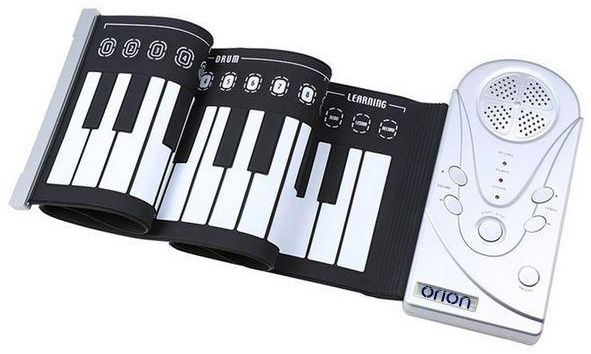 orion electronic 49 keys piano portable flexible foldable roll up