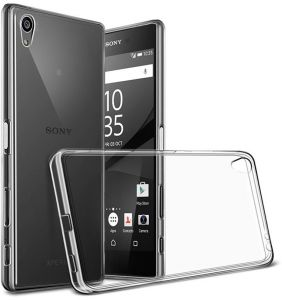 Slim Transparent Ultra-Thin TPU Protective Case Cover for Sony Xperia Z5 Premium - Clear