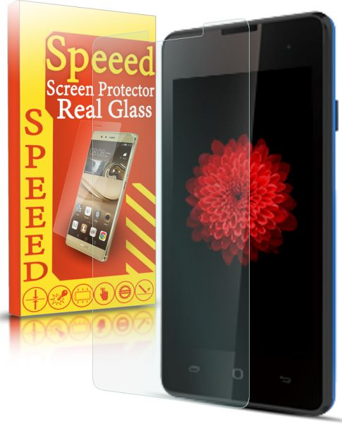 Speeed HD Real Glass Screen Protector for Tecno Y2 - Clear