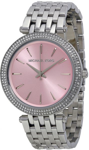 6aed6ab6f8a6 Michael Kors Darci Watch for Women - Analog Stainless Steel Band - MK3352