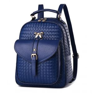 57963fe2d7 Fashion women Casual style school bag Leather backpack
