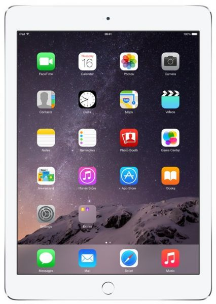 Apple iPad Air 2 with Facetime Tablet - 9.7 Inch, 32GB, 4G LTE, Silver