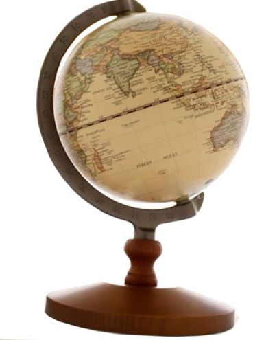 Vintage reference world geographical earth world map globe vintage reference world geographical earth world map globe educational gift 14cm gumiabroncs Image collections