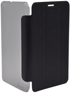 Folio Protection Cover By Ideatab For Samsung Galaxy Tab 3 Lite 7.0 (SM-T110, T116) , 7 Inch - BLACK