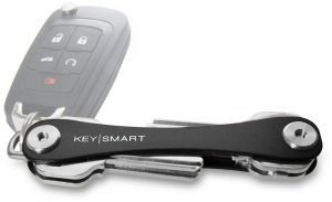 KeySmart Extended Key Holder ‫(2-8 Keys, Black)