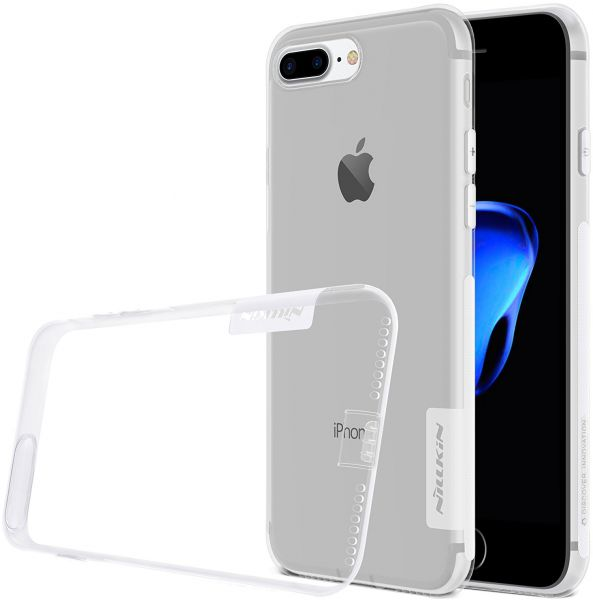 Nillkin Nature 0.6MM TPU Slim Case Cover for Apple iPhone 7 Plus - Clear