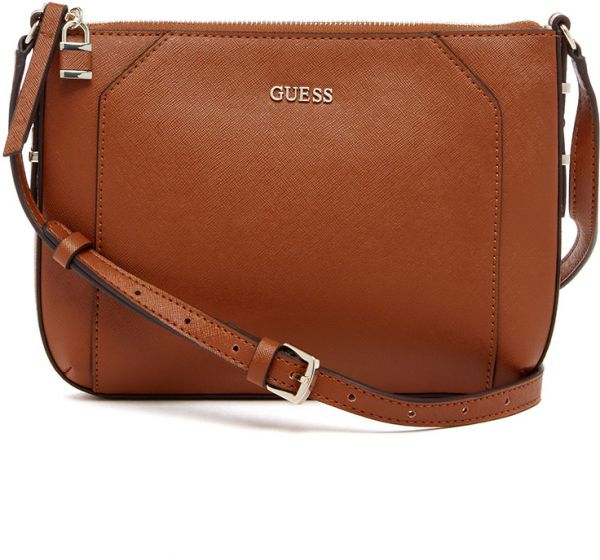 Crossbody Bag for Women by Guess, Brown,