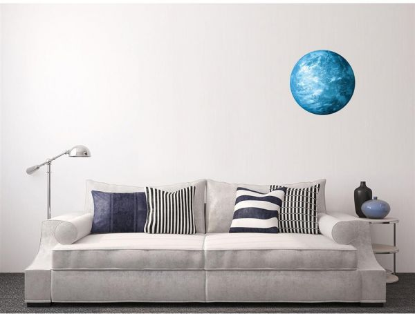 3D Luminous Planet Wall Stickers World Moonlight Glow In The Dark ...