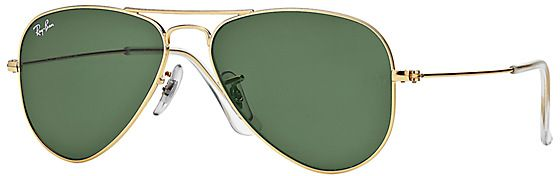 Ray-Ban Aviator Gold Sunglasses for Men - RB3044 L0207 52-14 - Small ... ad714ae77121