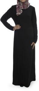 Rehan Dress For Women - Black ,Medium