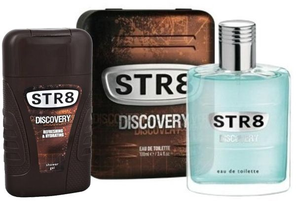 Str8 Discovery For Men Eau De Toilette 100ml With Str8 Discovery