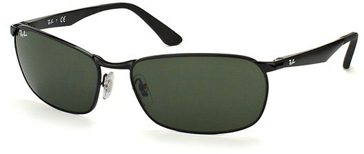 add65730dc Ray-Ban Rectangle Men s Sunglasses - RB3534-002-62 - 62-17-140 ...