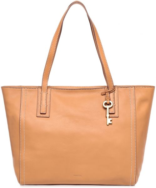 Fossil ZB6844 Emma Smooth Glazed Tote Bag for Women - Leather
