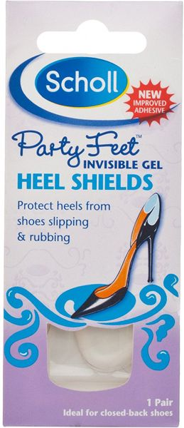 Buy Scholl Foot Care Party Feet Invisible Gel Heel Shields 1