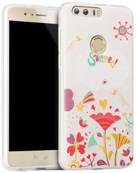 Huawei honor 8 TPU shell 3D painted case women fashion cover protective  sleeve HW8135 BD  bb01610bf