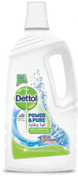 a04d27dde9e6 Dettol Power and Pure Multi-Purpose Mountain Fresh Cleaner