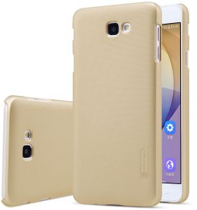 Samsung Galaxy J7 Prime Nillkin Super Frosted Shield Back Case [Gold Color]