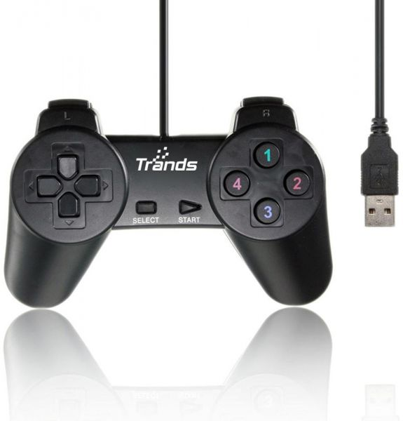 Wireless game controller joystick gamepad with otg for pc games.