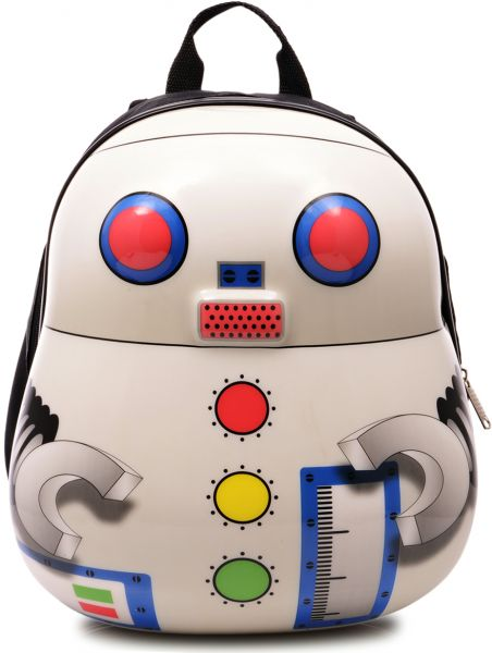 1934f1a9feff Skool Robot Backpack, White | Bags & Wallets | kanbkam.com