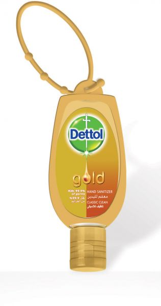 Dettol Gold Classic Clean Hand Sanitizer with Jacket, 5.