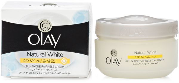 Buy Olay Natural White All-in-One Fairness Cream, 50g in Kuwait