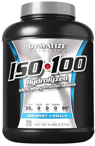 הוראות חדשות Dymatize Nutrition Iso 100 Hydrolyzed 100% Whey Protein Isolate AW-34