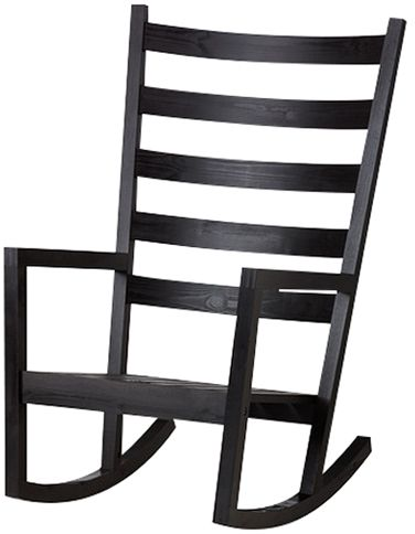 souq ikea varmdo rocking chair black uae
