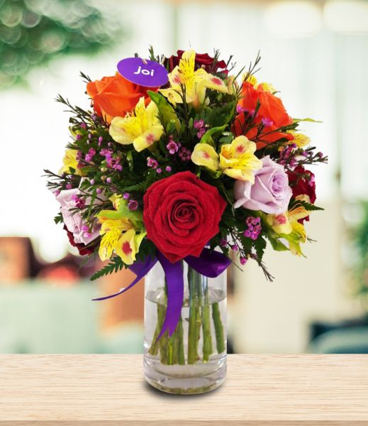 joiFlowers Giggle with joi Mixed Flower Bouquet | Flowers | kanbkam.com