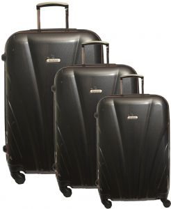 e5a5bc8c15178 Dolphine Set Of 3 Pieces Trolly Travel Bag For Unisex - Dark Grey