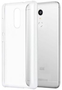 Soft Silicon Jelly Back Case Cover For Xiaomi Redmi Note 4 - Clear