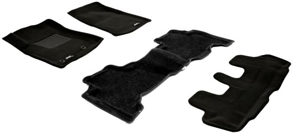 Toyota Prado Rubber Floor Mats Carpet Vidalondon