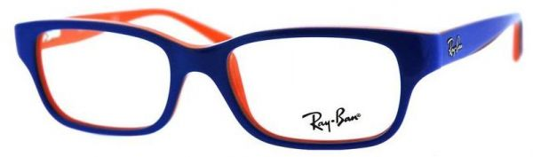 58e87196e6 Ray-Ban RB 1527 Col. 3578 Kids Blue Optical Frame