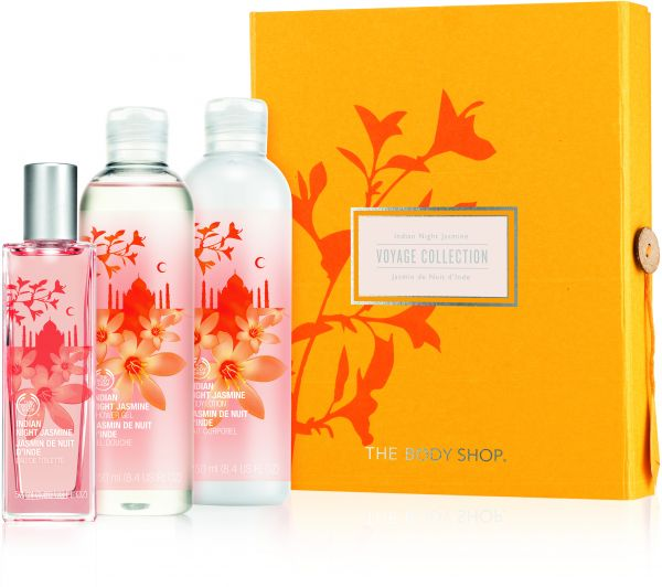 The Body Shop Gift Medium Indian Night Jasmine Voyage Collection For Women