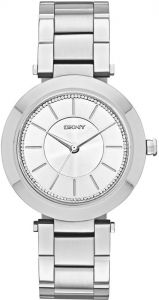 bfe83bf80 DKNY Stanhope 2.0 Women's Silver Dial Stainless Steel Band Watch - NY2285