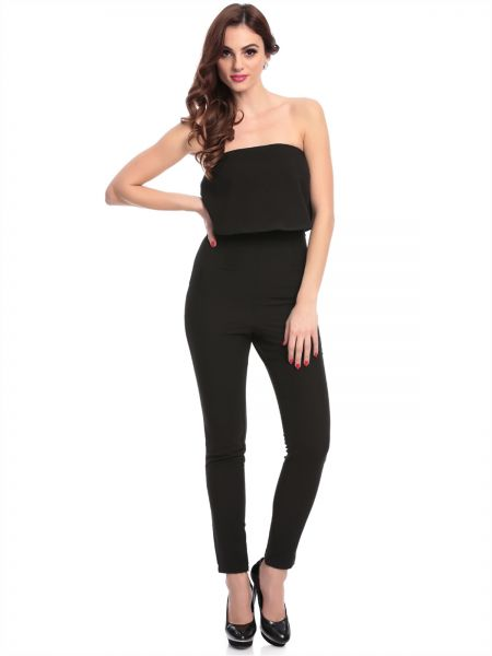 2bad980d84f MISSGUIDED M9901366 Solid Jumpsuit for Women