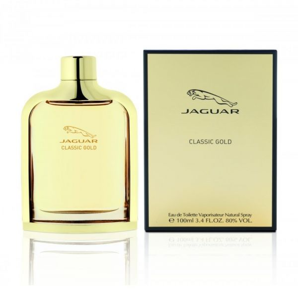 Classic Gold By Jaguar For Men Eau De Toilette 100ml Price In