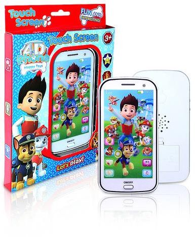 Paw Patrol Phone Lighting Educational Musical Toy for Kids Touch Screen  28305e3d1