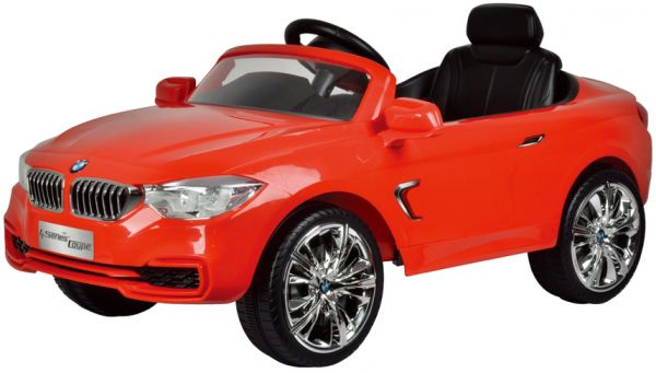 Electric Car Bmw For Children 4 Wheels Red Outdoor Adventure