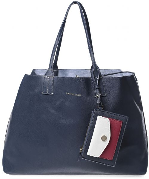 a5695471e5d Tommy Hilfiger 6934313-464 Th Reversible Tote Bag for Women ...