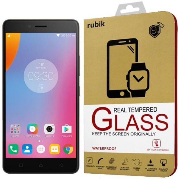 For Lenovo K6 Note - Rubik Real Tempered Glass Saphire HD