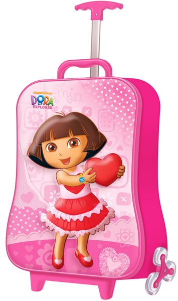 8d81c03f142a Dora The Explorer 3D Single Hand School Trolley Bag