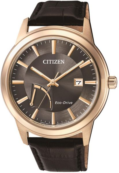 426ca3708 Citizen Stainless Steel Eco-Drive Power Reserve Men's Black Dial,Calf Leather  Watch- AW7013-05H, Black. by CITIZEN, Watches -. 52 % off