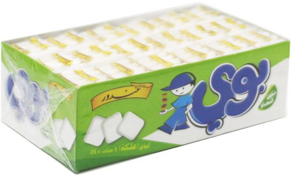 Boy Mint Chewing Gum by Gandour, 54 Pieces Price in Saudi