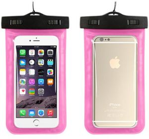 Water proof Bag Underwater Cover Case For iPhone 7/iphone7 plus/iphone5/,iPhone 6 Plus,iPhone 5s,iPhone SE Samsung Glaxy Note1 Note2 Note3 Note4 Note5-PINK